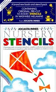 Cover of: The Painted Nursery Stencils Collection (Jocasta Innes Painted Stencils)