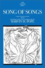 Cover of: Songs of Songs