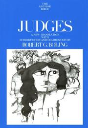 Cover of: Judges |