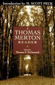 Cover of: A Thomas Merton reader: Edited by Thomas P. McDonnell.