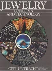 Cover of: Jewelry concepts and technology