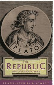 Cover of: The republic and other works | Plato