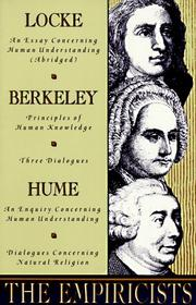 A description of locke berkley and hume affecting the philosophy of the natural world