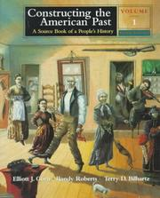 Cover of: Constructing the American Past |