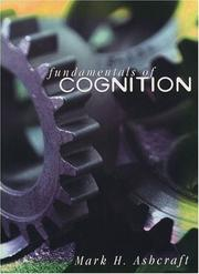 Cover of: Fundamentals of cognition