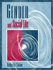 Cover of: Gender and Social Life