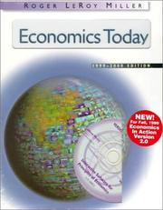 Cover of: Economics Today 1999-2000 with Economics in Action Vers. 2 Package (Chapters 1-35)
