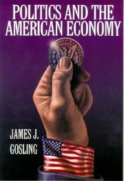 Cover of: Politics and the American Economy