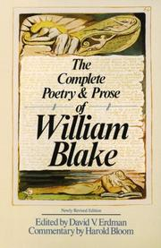 Cover of: The Complete Poetry & Prose of William Blake
