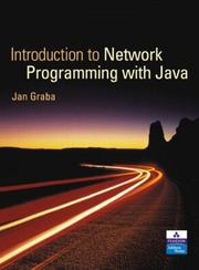 Cover of: An Introduction to Network Programming with Java + CD