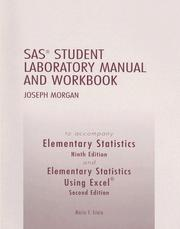 Cover of: Elementary Statistics and Elementary Statistics Using Excel, SAS Student Laboratory Manual and Workbook