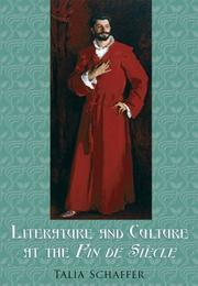 Cover of: Literature and Culture at the Fin de Siècle