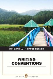 Cover of: Writing conventions