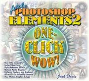 Cover of: Adobe Photoshop Elements 2 One-Click Wow! (WOW!)