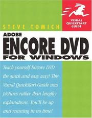 Cover of: Adobe Encore DVD for Windows | Steve Tomich