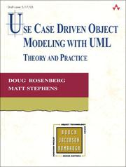 Use Case Driven Object Modeling with UML by Matt Stephens