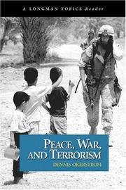 Cover of: Peace, War, and Terrorism