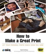 Cover of: How to Make a Great Print | David Schloss
