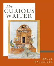 Cover of: The Curious Writer (with MyCompLab) (MyCompLab Series)