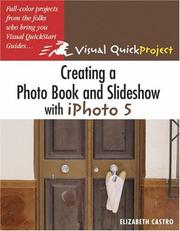 Cover of: Creating a Photo Book and Slideshow with iPhoto 5
