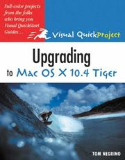 Cover of: Upgrading to MAC OS X 10.4 Tiger