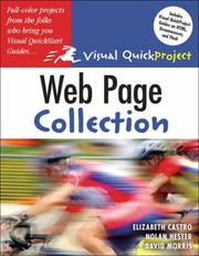 Cover of: Web Page Visual QuickProject Guide Colle