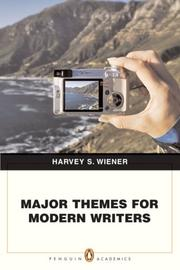 Cover of: Major Themes for Modern Writers