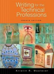 Cover of: Writing for the Technical Professions (4th Edition) (MyTechCommKit Series) |