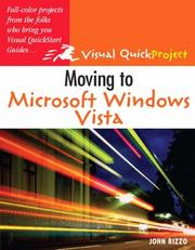Cover of: Moving to Microsoft Windows Vista