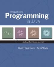 Cover of: Introduction to programming in Java
