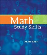 Cover of: Math Study Skills