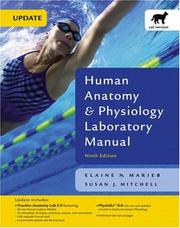 Cover of: Human Anatomy & Physiology Laboratory Manual, Cat Version, Media Update (9th Edition) | Elaine Nicpon Marieb, Susan J. Mitchell
