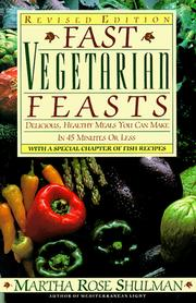 Cover of: Fast vegetarian feasts