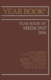 Cover of: Year Book of Medicine (Year Books) |