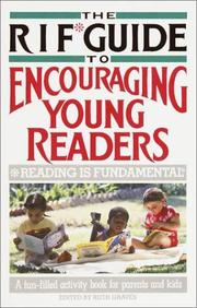 Cover of: The RIF* Guide to Encouraging Young Readers