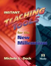 Cover of: Instant Teaching Tools for the New Millennium