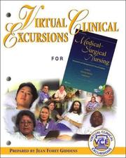 Cover of: Virtual Clinical Excursions 1.0 to Accompany Medical-Surgical Nursing | Jean Giddens
