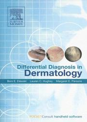 Cover of: Differential Diagnosis in Dermatology | Boni E. Elewski