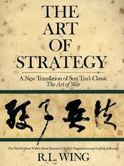Cover of: art of strategy | Sunzi