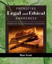 Cover of: Promoting Legal and Ethical Awareness
