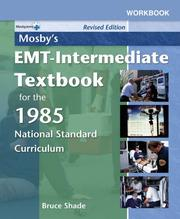 Cover of: Workbook to Accompany Mosby's EMT-Intermediate Textbook for the 1985 National Standard Curriculum
