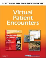 Cover of: Virtual Patient Encounters for Mosby's EMT-Intermediate Textbook for the 1999 National Standard Curriculum