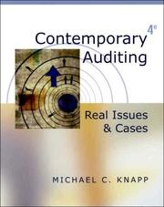 Cover of: Contemporary auditing