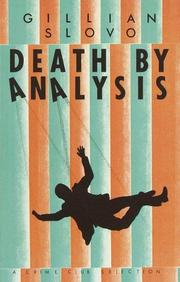 Cover of: Death by analysis