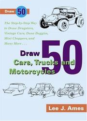 Cover of: Draw 50 Cars, Trucks and Motocycles (Draw 50)