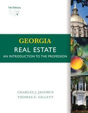 Cover of: Georgia Real Estate | Charles J. Jacobus