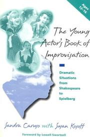 Cover of: The young actor