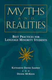Cover of: Myths and realities