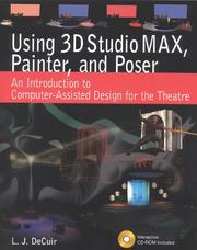 Cover of: Using 3D StudioMax, Painter, and Poser