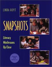 Cover of: Snapshots: Literacy Minilessons Up Close